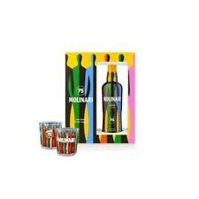 Sambuca Extra Molinari Limited Edition Pack con 2 Bicchieri 75 Anniversary