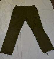 New green camo combat style pants size x-large (ref1#bte76)
