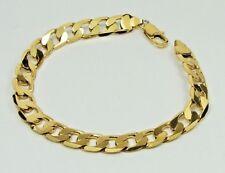 Men's Women's Gold Filled Cuban Link Bracelet