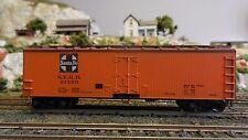 Train Miniature Ho Vintage Santa Fe Wood Reefer, Upgraded
