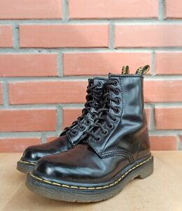 Dr Martens 1460 Boots Women 3 UK 5 US Classic Ankle 8 eye Polished Smooth Leathe
