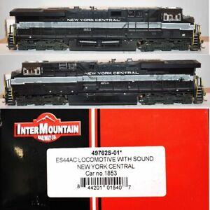 NYC 1853 ES44AC DCC Sound Intermountain HO 49762S-01 MR5.19