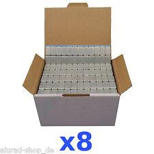 8x 6KG 48KG Pesi Equilibratura 12x5g Adesivi di Equilibrio 800 Bullone 5gx12