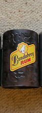 BUNDABERG RUM NED KELLY STUBBY HOLDERS x 2 OFF   , NEW