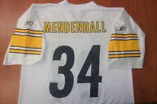 Vintage Reebok NFL Pittsburgh Steelers Rashard Mendenhall  On Field Jersey L NEW