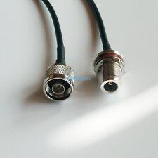 N type male to N female Jack bulkhead crimp RF RG58 Coaxial cable 20inch