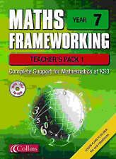 Maths Frameworking: Year 7: Teacher Pack 1 by Brian Speed, Kevin Evans