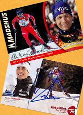 Ole Einar Björndalen-Martin Fourcade (1) - 2 Super AK pictures + Ski AK FREE