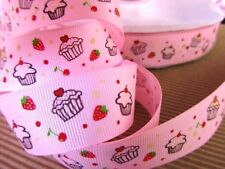 "10 yards Roll Grosgrain 7//8/"" Ribbon Baby Girl Shower /""ABC/"" Block Toy R76-Pink"