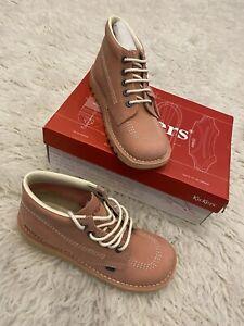 Kickers Kick Hi Unisex Pink Size 6