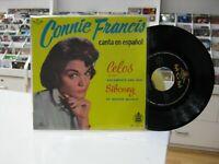 """Connie Francis 7 """" EP Spanisch Eifersucht + 3. 1960 Singt IN / Auf / Im Español"""