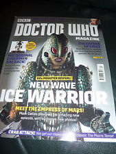 DOCTOR WHO MAGAZINE JULY 2017 (ISSUE 513) ICE WARRIOR COVER...NEW