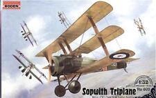 Sopwith Triplane << Roden #609, 1/32 scale