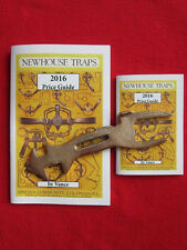 New! 2016 Newhouse Trap Price Guides w/ Wrench