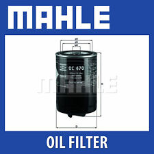 Mahle Oil Filter OC470 - Fits Audi, Skoda, VW - Genuine Part