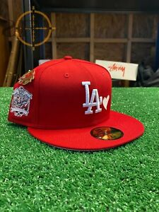 Exclusive New Era 59Fifty Sweethearts Los Angeles Dodgers 40th Anniversary Patch