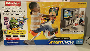 Fisher Price Think & Learn Smart Cycle - Bluetooth Apple Android NIB NEW SEALED