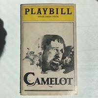 Camelot - Playbill Winter Garden Theater - December 1981 - Richard Harris