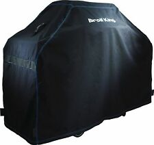 "Broil King 68487 Premium 58"" Black Grill Cover New!"