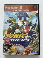 Sonic Riders (Sony PlayStation 2, 2006) PS2 Game And Case