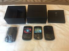 Lot Of 3 BlackBerry 9930 Verizon/ 2 Are Locked, 1 Unlocked