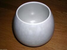 POOLE 288 MOTTLED GREY AND GREY TWO TONE SUGAR BOWL VINTAGE
