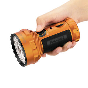 Olight Marauder 2 Orange Limited Edition 14000 Lumens LED Flashlight Torch