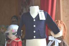 veste tartine et chocolat 3 mois neuve poche avec intiales 65 euros bleu marine