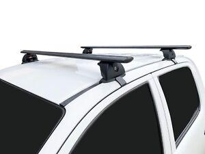 Alloy Roof Rack Cross Bar for Mitsubishi Triton 06-15 135cm Black Lockable