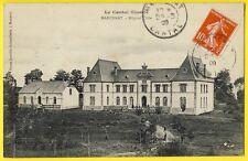 cpa Auvergne MARCENAT (Cantal) HOSPICE HÔPITAL TIBLE Maison de Retraite en 1909