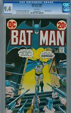 Batman #249 June 1973 CGC 9.4 White Pages