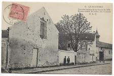"""CPA """" LE BOURGET  - Derniers vestiges Guerre de 1870 - Maison criblée de Balles"""