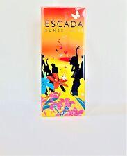 Escada SUNSET HEAT Perfume EDT Spray 3.3 oz 100 ml New In Sealed Box