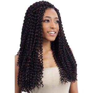 Model Model Synthetic Hair Braids Glance Bohemian Curl