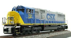 MTH Premier 20-2375-1: CSX SD70 MAC Powered Diesel, C9 DCS PS2.0 NEW BCR