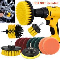 12Pcs Polishing Waxing Buffing Buffer Sponge Pads Kit Set Car Polisher for Drill