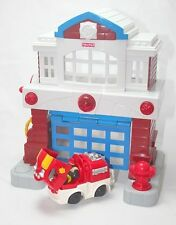 GeoTrax Beamtown Fire Station 3rd Release Complete Set L5896