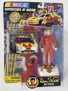 Toy Biz Nascar Superstars Of Racing Bill Elliott Action Figure Brand New