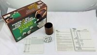 Yum Deluxe Poker Dice Game by Parker Brothers Complete in Great Cond FREE SHIP