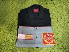 Supreme S/S 2014 Pit Crew Shirt  (Black) Size M
