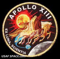 "Apollo 13  Mission Commemorative 5"" Tim Gagnon ORIGINAL AB Emblem NASA PATCH"