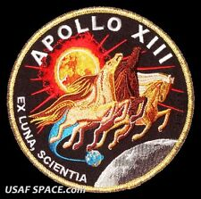 "Apollo 13  Mission Commemorative 5"" Tim Gagnon ORIGINAL AB Emblem NASA PATCH"