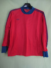 Maillot Adidas Ventex 80'S Rouge Vintage Enfant Jersey Football - XS