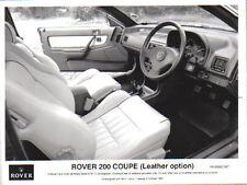 ROVER 200 Coupe interni in pelle opzione ORIGINALE B&W PRESS PHOTO NO. 0992/267