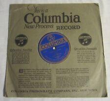 FRED VAN EPS Banjo Solos -- Columbia 78 # A-2983 -- COCOANUT DANCE + Persiflage
