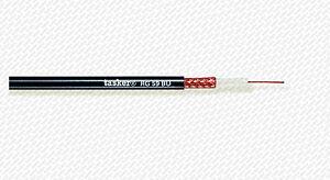 10 METRI CAVO COASSIALE VIDEO 75 OHM - MIL C17 Standard TASKER RG59 B/U