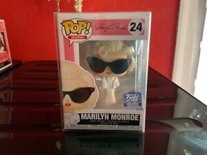 Funko POP! Marilyn Monroe #24 in Glasses Hollywood Exclusive Vinyl In Protector