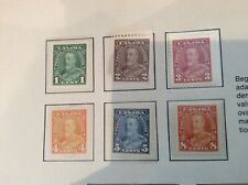 """1935 King George V """"pictorial'' Issue MH Fine-VF no 217 to 225, 228 229 230"""