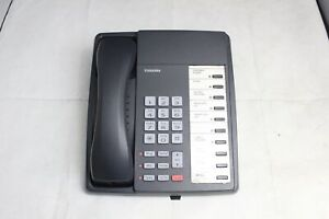 Lot Of 10 Toshiba DKT3010-S 10-Button Charcoal Digital Business Office Phones