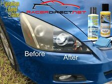 PROFESSIONAL DIY HEADLIGHT LENS RESTORATION KIT REMOVES YELLOW STAINS OXIDATION